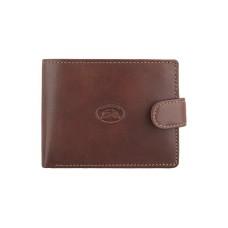 Маленький коричневый кожаный кошелек Tony Perotti