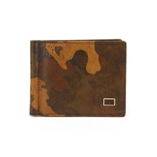 Маленький коричневый кошелек Tony Perotti