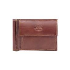 Мужской коричневый кожаный кошелек Tony Perotti