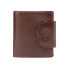 Мужской коричневый кожаны кошелек Tony Perotti