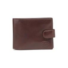 Маленький мужской коричневый кошелек Tony Perotti