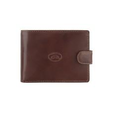 Мужской маленький коричневый кошелек Tony Perotti